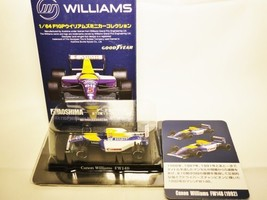 AOSHIMA Miniature Car Collection 1/64 Canon Williams Renault Team GOODYEAR Fo... - $24.29