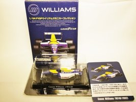 AOSHIMA Miniature Car Collection 1/64 Canon Williams Renault Team GOODYEAR Fo... - $22.49