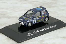 1/64 Japan CM's Rally Car Collection SS10 SUBARU VIVIO Safari 1993 C. Mcrae D... - $21.59