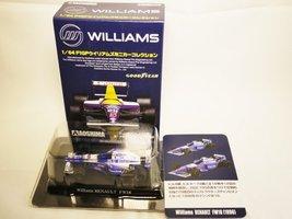 AOSHIMA Miniature Car Collection 1/64 Williams Renault Team GOODYEAR Formula ... - $22.49