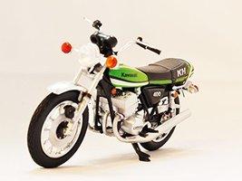 1/24 AOSHIMA SAN-S Comic Weekly SHONEN Part 3 Kawasaki KH400 A7 Green (japan ... - $59.89