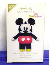 Mickey Mouse Limited Edition Hallmark Ornament ... - $12.90