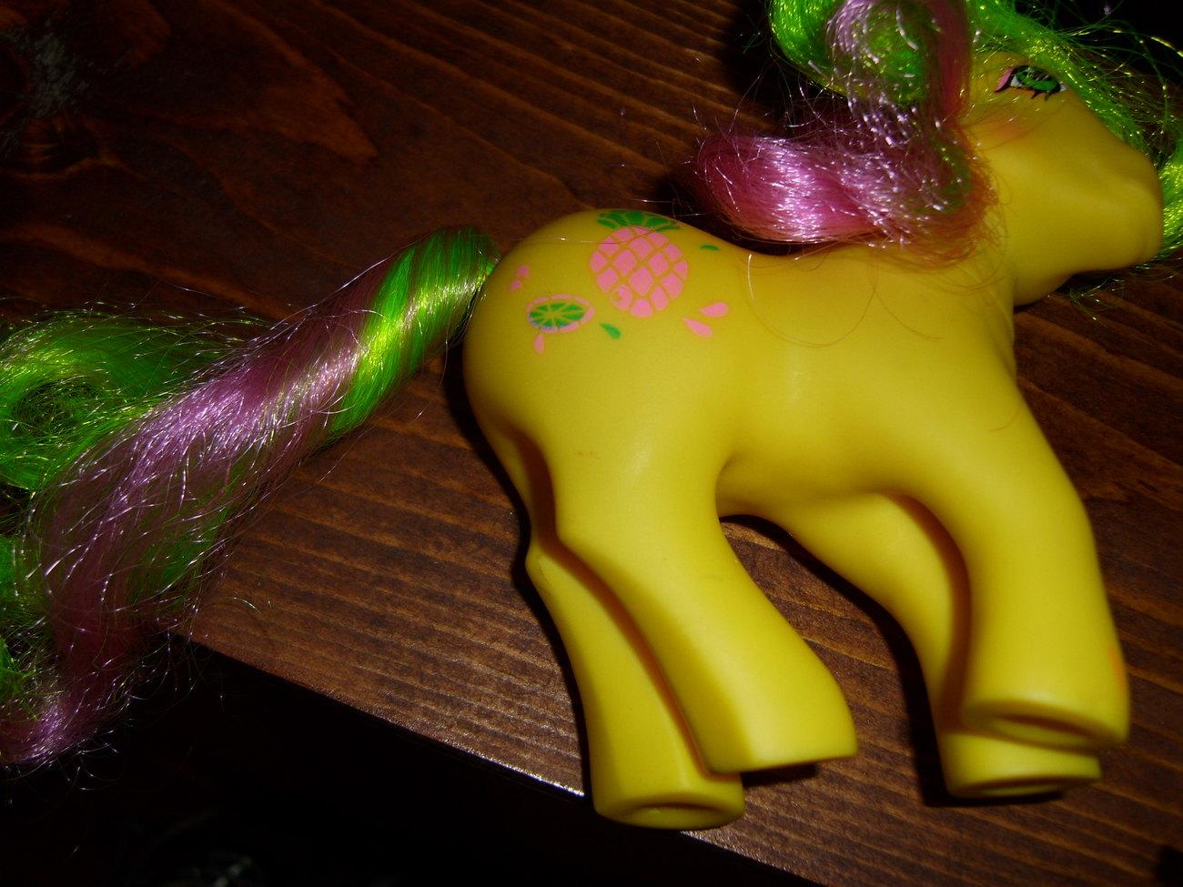 My Little Pony G1 Tootie Tails original curl