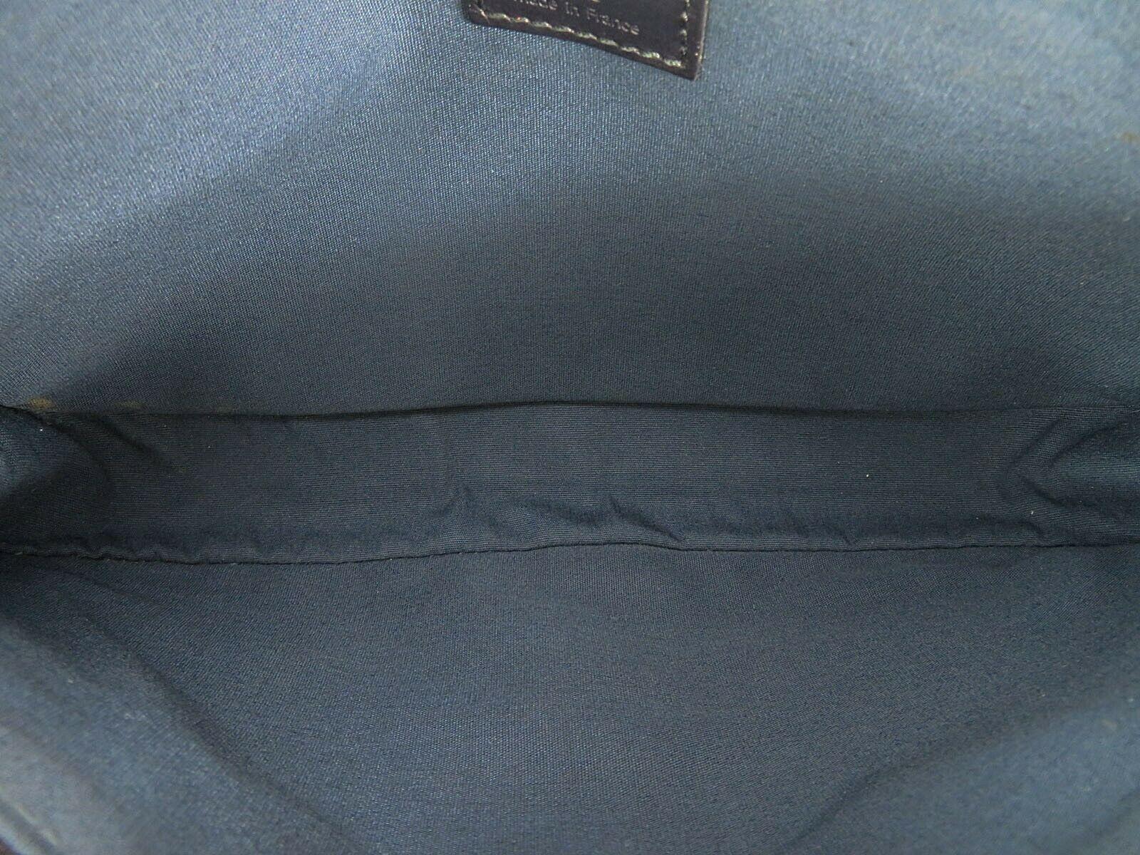 Authentic LOUIS VUITTON Marjorie Blue Monogram Mini Lin Shoulder Bag #34709 image 9