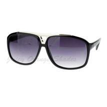 Retro Unisex Square Frame Sunglasses Top Designer Fashion Shades - $8.95