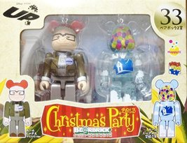 MEDICOM TOY BEARBRICK BE@RBRICK UNBREAKABLE DISNEY PIXAR Christmas Party... - $35.99