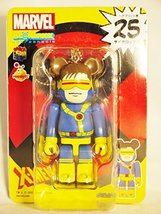 Medicom Toy Bearbrick Be@rbrick unbreakable 100% MARVEL Comic X-MEN CYCLOPS 1pc - $30.59