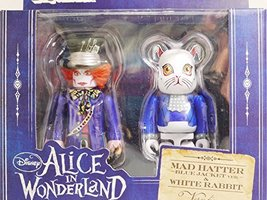 MEDICOM TOY KUBRICK vs Bearbrick Alice in Wonderland MAD HATTER in Blue Jacket - $89.99