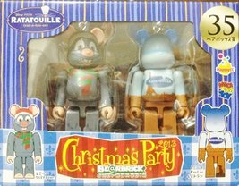 MEDICOM TOY BEARBRICK BE@RBRICK UNBREAKABLE DISNEY PIXAR Christmas Party... - $31.49
