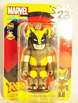 Medicom Toy Bearbrick Be@rbrick unbreakable 100% MARVEL Comic X-MEN Wolverine... - $33.29