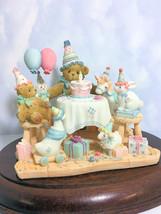 Cherished Teddies Aggie Birthday 2002 Adoption Ctr Excl NIB - $55.39