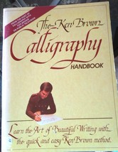"Vintage Calligraphy Book - 1982 - ""The Ken Brown Calligraphy Handbook"" #... - $6.49"