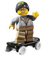 LEGO Minifigures Series 4 Street Skater COLLECTIBLE Figure skateboarding... - $32.39