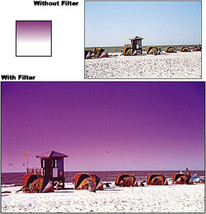 Cokin 669 A669 Graduated Fluo Mauve 2 Filter For A Series Holder  New - $20.99