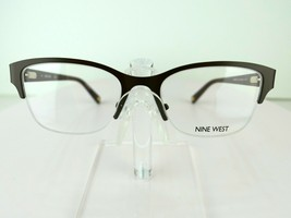 Nine West NW 1076 (210) Brown 50-18-135  Eyeglass Frames - $64.30