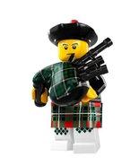 LEGO Minifigures Series 7 Bagpiper COLLECTIBLE Figure bagpipe Scotland m... - $33.39