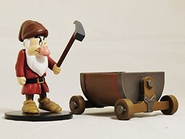 TOMY Disney Magic Collection Snow White and the Seven Dwarfs Grumpy Figu... - $17.99