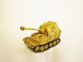 Capsule Toy KAIYODO CapsuleQ World Tank Museum WTM Figure German Sd.Kfz.184 E... - $19.99
