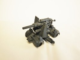 Capsule Toy KAIYODO CapsuleQ World Tank Museum WTM Figure German 8.8cm FlaK36... - $18.89