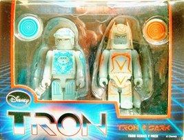 MEDICOM TOY KUBRICK DISNEY TRON LEGACY Series 2 TRON & SARK Bearbrick Set of ... - $53.99