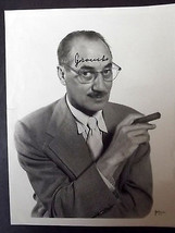GROUCHO MARX (ORIGINAL VINTAGE 1950,S AUTOGRAPH PHOTO) CLASSIC  (WOW) - $792.00