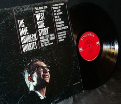 """Dave Brubeck Quartet – Music From """"West Side Story"""" And Other Works AA20-RC2102 image 1"""