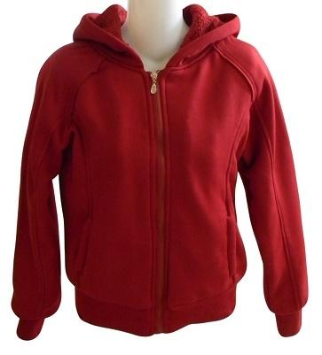 Sherpa lined hoodie  burg 50