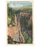 WY Yellowstone National Park Needle Grand Canyon Vtg Haynes Postcard - $4.99
