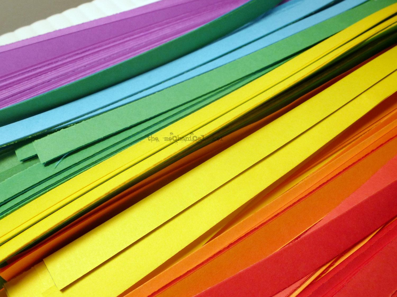 bulk 1000 origami star paper kit rainbow sheets lucky