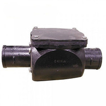 "3"" No Hub Cast Iron Backwater Valve - 11-3/4"" l... - $139.88"