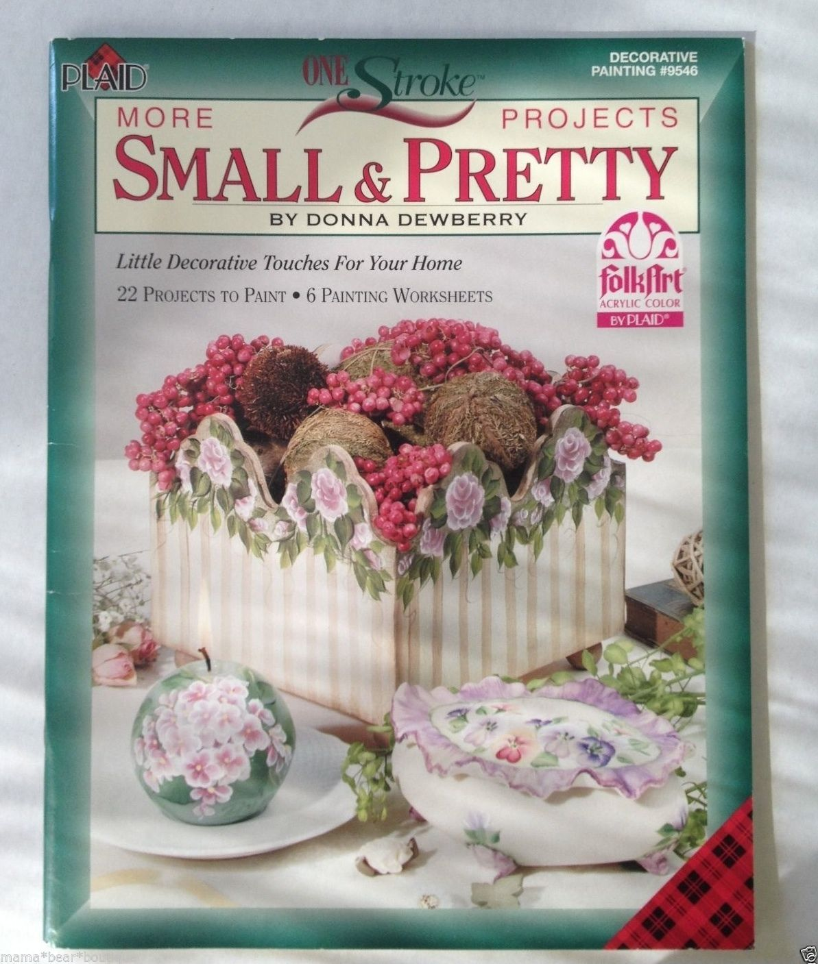 One Stroke Small Pretty Donna Dewberry And 50 Similar Items