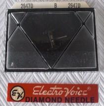 Vintage NOS Electro-Voice Record Player Turntable Needle Cartridge 2647 ... - $5.86