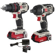 Porter-cable 20-volt Max* Cordless 2-tool Combo Kit With 2 Batteries - $230.17