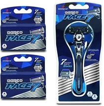 Dorco Pace 7 - World's First and Only Seven Blade Razor System- Value Pa... - $36.87