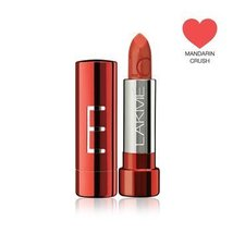 Lakme Lip Love Lipstck, Mandarin Crush, 3.5g [Health and Beauty] - $18.80