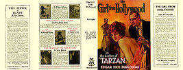 Edgar Rice Burroughs THE GIRL FROM HOLLYWOOD fa... - $21.00