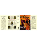 Edgar Rice Burroughs THE GIRL FROM HOLLYWOOD facsimile dust jacket for t... - $22.00