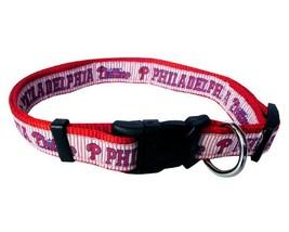 PHILADELPHIA PHILLIES Dog Collar * MLB Baseball Team Fan Pet Puppy Nylon... - $11.99