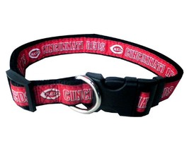 CINCINNATI REDS Dog Collar * MLB Baseball Team Fan Pet Puppy Nylon Sport... - €10,49 EUR