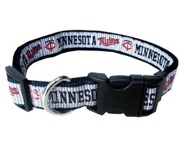 MINNESOTA TWINS Dog Collar * MLB Baseball Team Fan Pet Puppy Nylon Sport... - €10,49 EUR