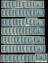 619, Mint LH 5c Minute Man - 70 COPIES! - Generally VF & Fresh! Cat $1,0... - $419.15