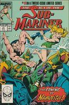 Marvel THE SAGA OF THE SUB-MARINER #11 VF/NM - $1.09