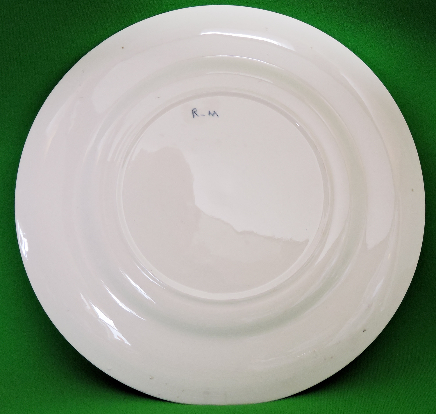 Beautiful vintage 11 floral decorative plate marked r m Beautiful plates