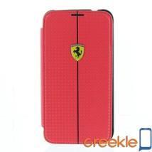 Ferrari Formula 1 Carbon Book Type w/ Flip Hard Case for Samsung Galaxy ... - $43.99