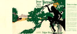 Edgar Rice Burroughs TARZAN OF THE APES facsimi... - $21.00