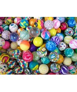 """100 Super Bounce Bouncy 27mm Ball 1"""" Bouncing Superballs New Party Favor... - $12.97"""