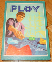 PLOY STRATEGIC GAME 1970 3M CO COMPLETE EXCELLENT - $20.00