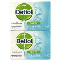Dettol Bar Soap Cool 70g. Pack 4 NEW Sealed Made in Thailand [Misc.] - $12.25