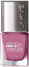 Lakme Fast and Fabulous Nail Color, Purple Potion, 10ml [Health and Beauty] - $5.04