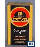 7 SEAS COD LIVER OIL CAPS Size: 500 [Health and Beauty] - $92.93